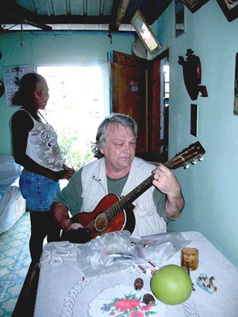 Joe Bageant in Belize