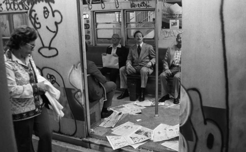 NYC Subway 1970s (Photo: Anthony Casale/New York Daily News)