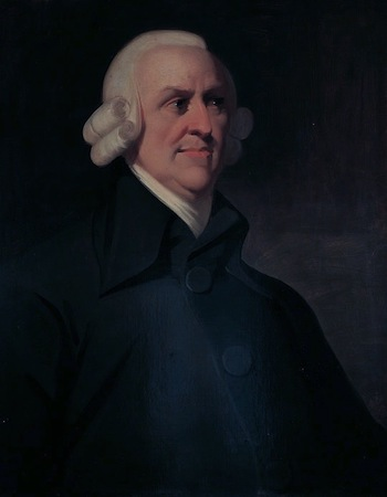 Adam Smith. By Unknown. Public Domain.