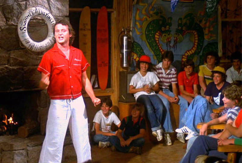 Camp counselor Tripper Harrison, played by Bill Murray, in the 1979 movie Meatballs