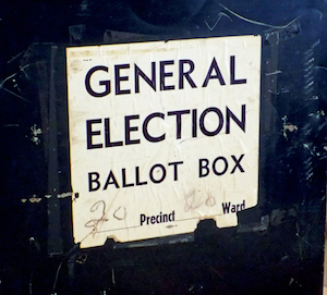 Ballot Box. By Mr. Gray, Flickr, Public Domain (CC0 1.0)