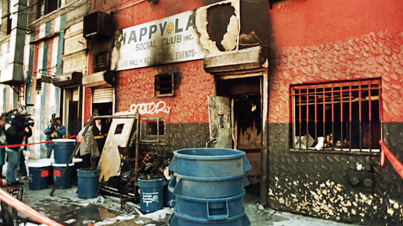 A memory of my friends who died in the Happy Land fire: 28..