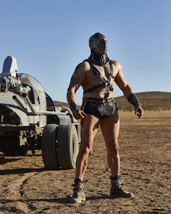 Mad Max, supposedly set this year, wasn't much more accurate — though at least Lord Humungous is wearing a face mask.