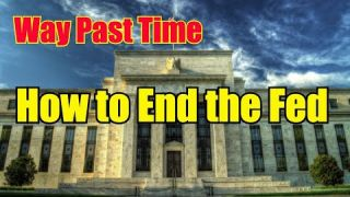 How to End the Federal Reserve #EndTheFed #Qanon